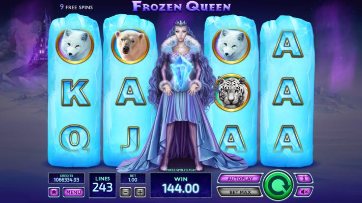 Frozen Queen by Tom Horn