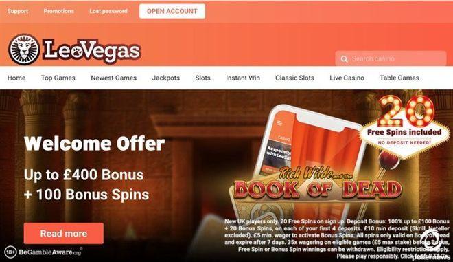 LeoVegas Casino UK