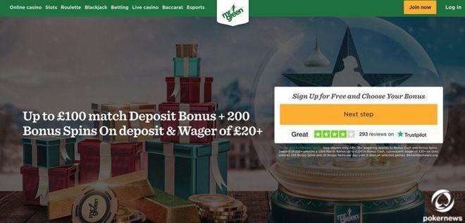 Mr. Green Casino UK