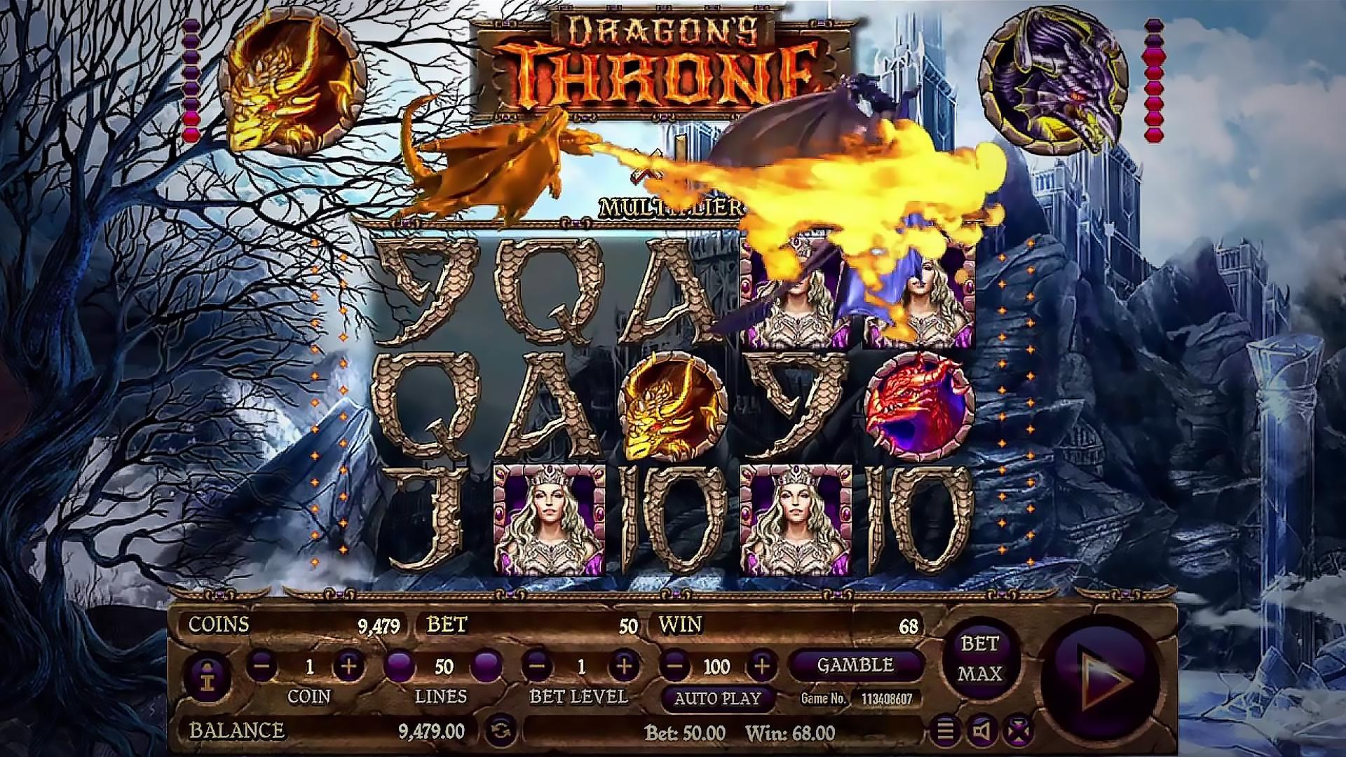 Dragon`s Throne by Habanero