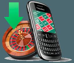 DOWNLOADING ROULETTE Für BlackBerry SMARTPHONES