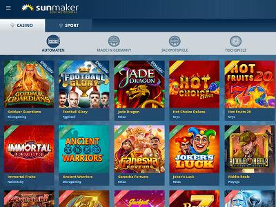 Sunmaker Casino Tricks