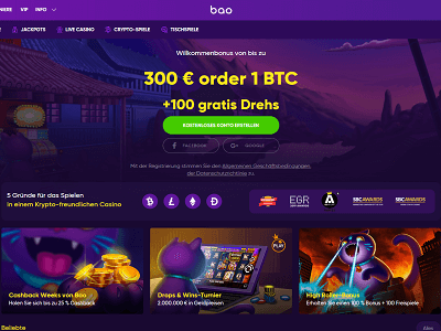 Bao Casino Review