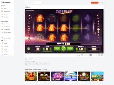 Bitcasino Screenshot 2