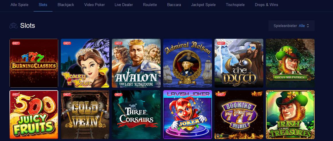 Ethereum Casinos Spiele