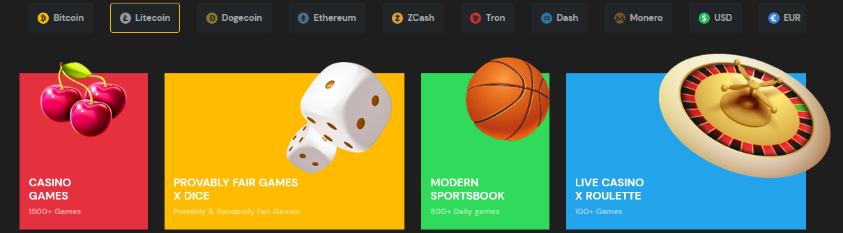 Litecoin Casino Bonus