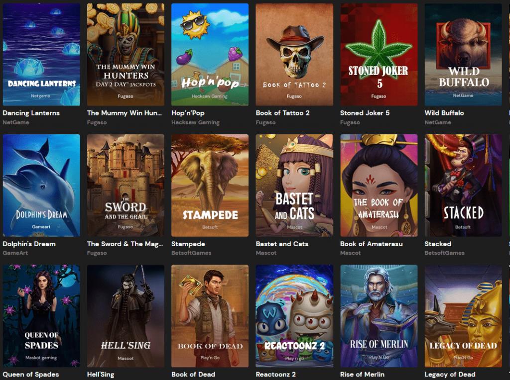 Litecoin Casino Spiele