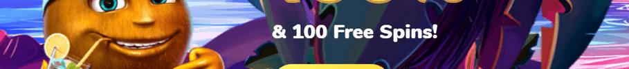 100 Freispielen ohne Einzahlung
