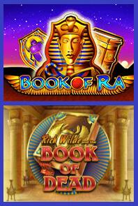 Book of Ra - Book of Dead Casino