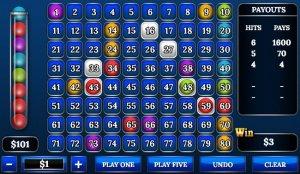 Keno online Casinos Gewinnchancen