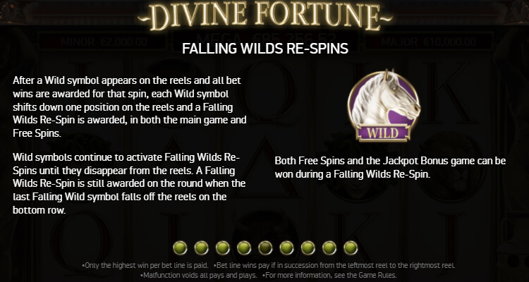 Divine Fortune Falling Wild Re Spin