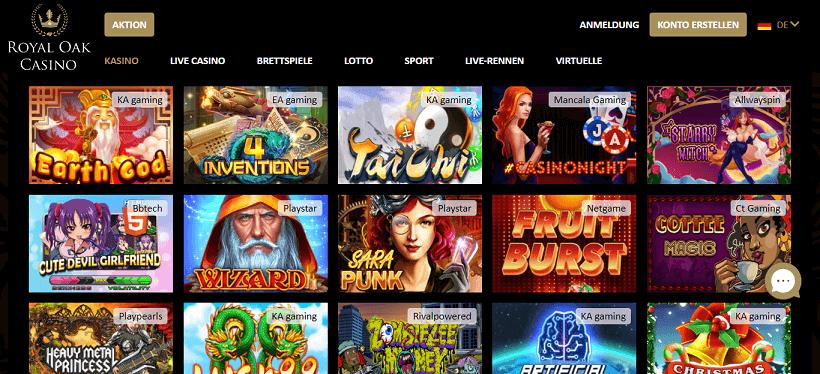 Royal Oak Casino Slots