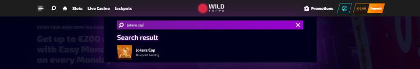 Wild Tokyo Casino Jokers Cap